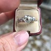 1.71ct Old Mine Cut Diamond Solitaire GIA K SI2 15