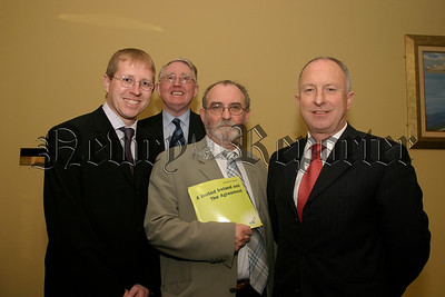 SDLP Meeting, Newry Candidates  Gary Stokes, Frank Feeley, Terry Ruddy and  Dermot Ahern, 05W13N58.