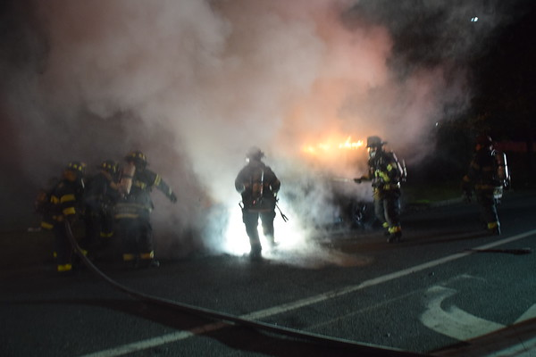 5.02.20-Brentwood - Car Fire - Spence St & Fifth Ave