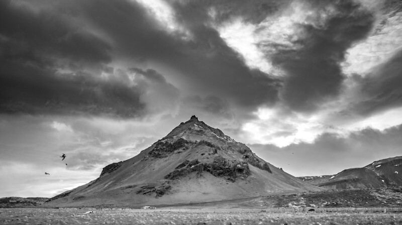 The Westfjords Iceland   Black & White Photography by Wayne Heim