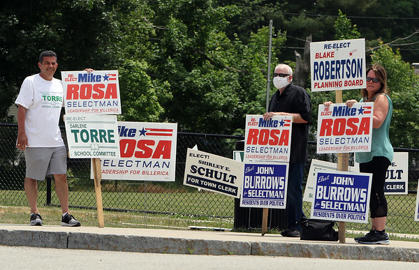 Billerica town election 060620