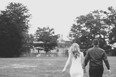 Bethany and Mike's Harkness Park Engagement Session