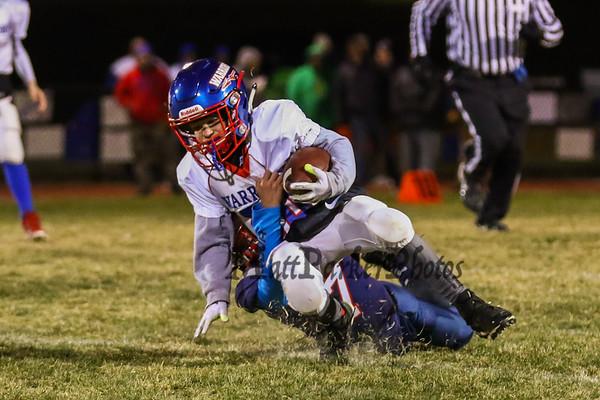 2019-11-16 Little Warrior 5-6th Football vs Amherst League Finals