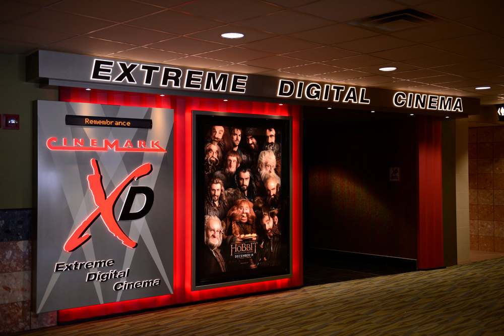 . Aurora , CO. - January 17: The new Extreme Digital Cinema theater in the Century Aurora Theater before the reopening and remembrance for the victims where suspect James Holmes is accused of killing 12 people and wounding 70 others onFriday, July 20, 2012 in Aurora, Colorado, January 17,  2013. (Photo By Joe Amon / The Denver Post)
