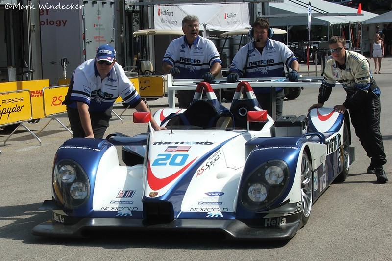 P2 Dyson Racing Team Porsche RS Spyder