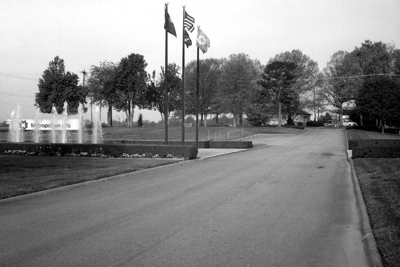 front parking lot and flags.jpg