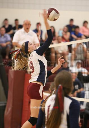 Odessa/Watkins Volleyball 9-23-15
