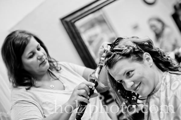 Heather and Bret B/W Wedding Photos (Lexington, Ky)
