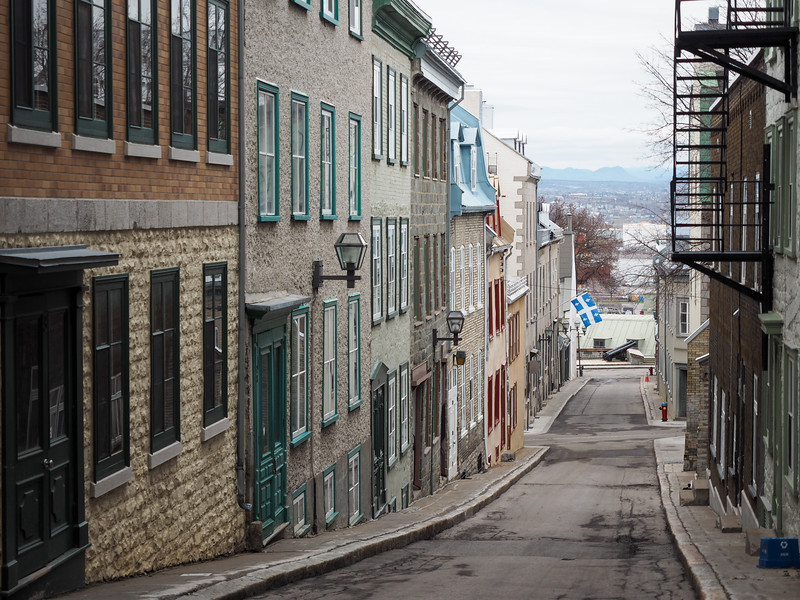 Street in Old Quebec
