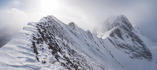 2018-01-21 Commonwealth Ridge (North peak)