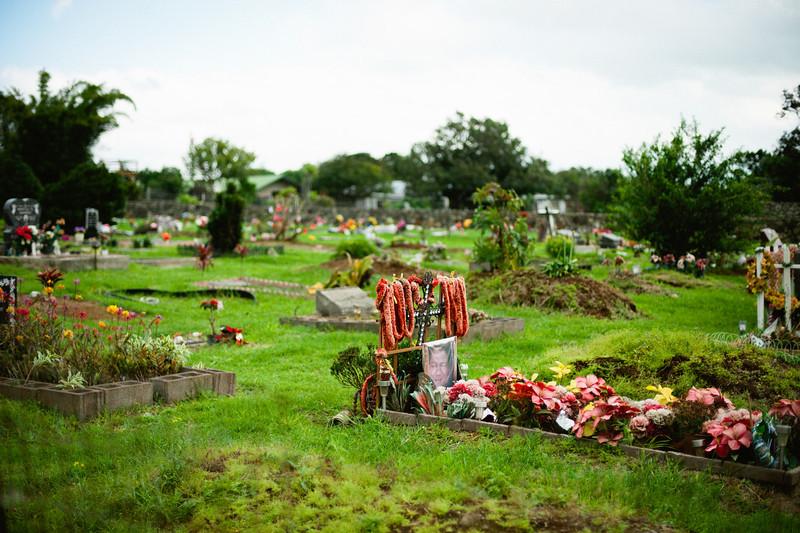 Cemetery Waimea, Big Island.