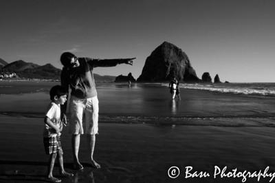 Canon Beach B&W - 2012