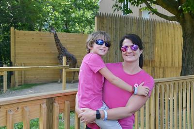 Baby and Me- Walk at Zoo