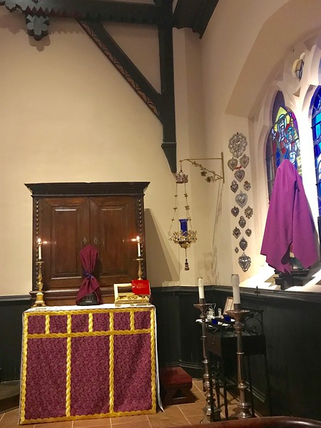 Monday in Holy Week Low Mass