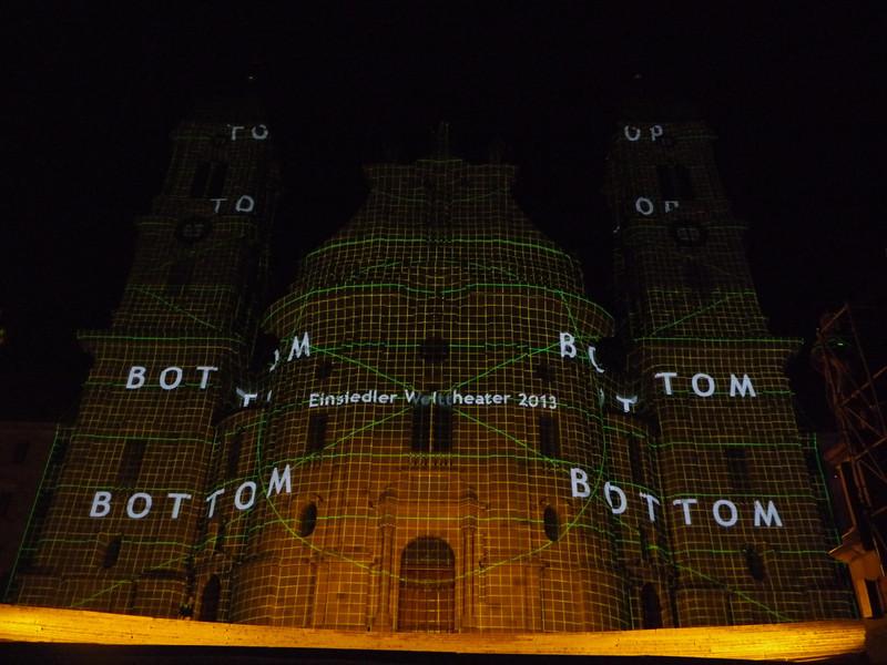 @RobAng 2013 / Welttheater Einsiedeln / Kloster Einsiedeln, Einsiedeln, Kanton Schwyz, CHE, Schweiz, 905 m ü/M, 2013/07/06 23:30:11
