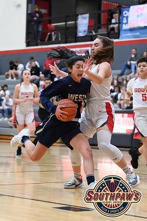 West Albany vs. South Albany Girls High School Basketball