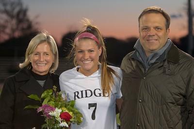 2016.10.25 - Ridge vs. Pingry - Senior Night Family Pics