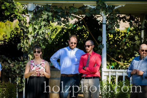Martina & John Color Wedding Photos