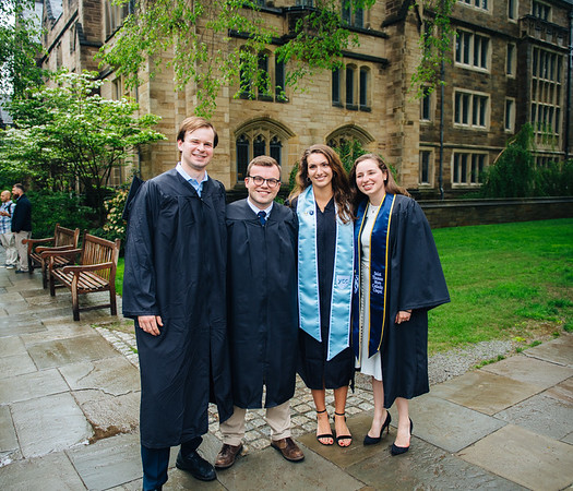 Yale Graduation May 21 & 22, 2018  Friends