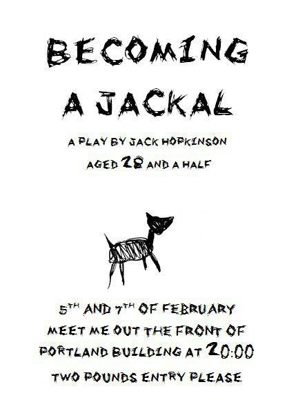 Becoming A Jackal poster