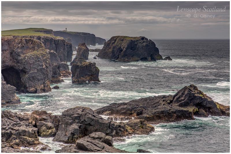 Cliffs at Esha Ness (1) (north Shetland mainland)