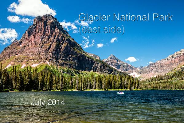 Glacier National Park (East Side) 2014