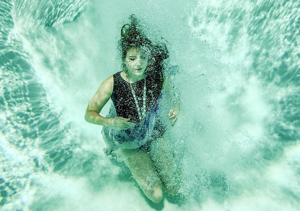 Haley Underwater