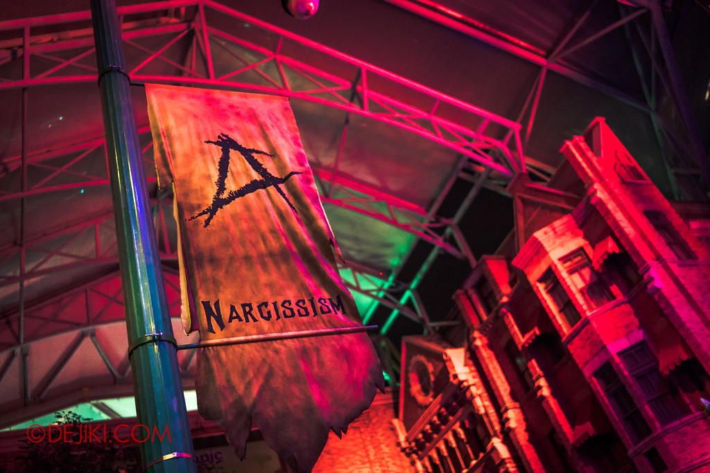 Halloween Horror Nights 7 - Pilgrimage of Sin / Narcissism altar