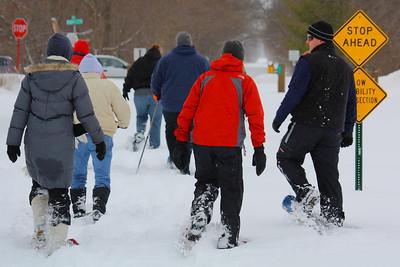 Snow Shoe Hiking - Lorain County Metroparks