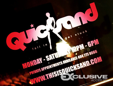 QUICKSAND  BOUTIQUE<br> 299 PETERS ST. (ATLANTA,GA)