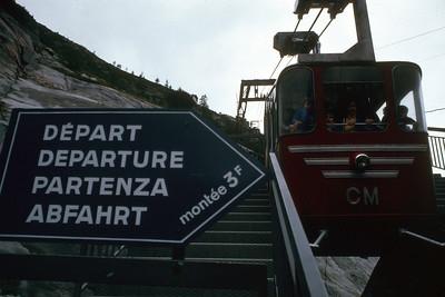 Chamonix Mer de Glace