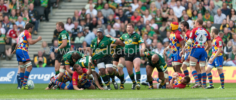 Northampton Saints vs USAP, Heineken Cup semi-final, stadium:mk, 1 May 2011