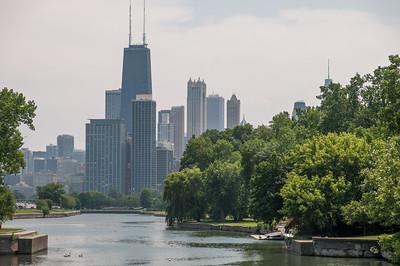 Chicago: Spaziergang und Konzert im Millennium Park