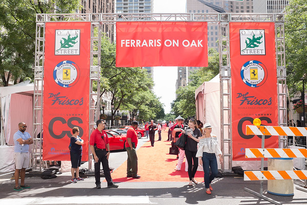 Ferrari's on Oak July 10, 2016