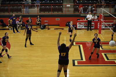 Lady Riders Volleyball at Rusk