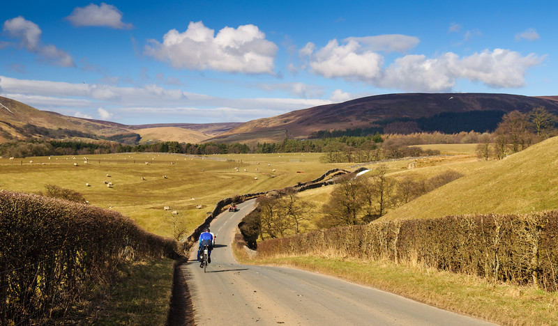 Cycling in the Forest of Bowland