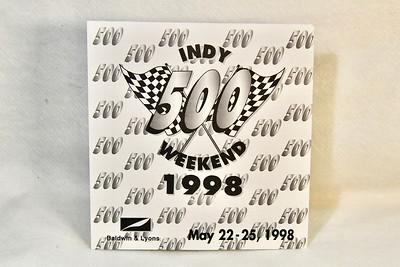 5-22-1998 Baldwin & Lyons Indy 500 Race Weekend Welcomecome