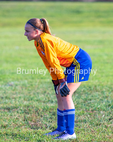ECS Varsity Girls MS Soccer 8-30-18