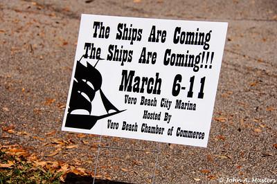 Nina and Pinta Sailing Ships
