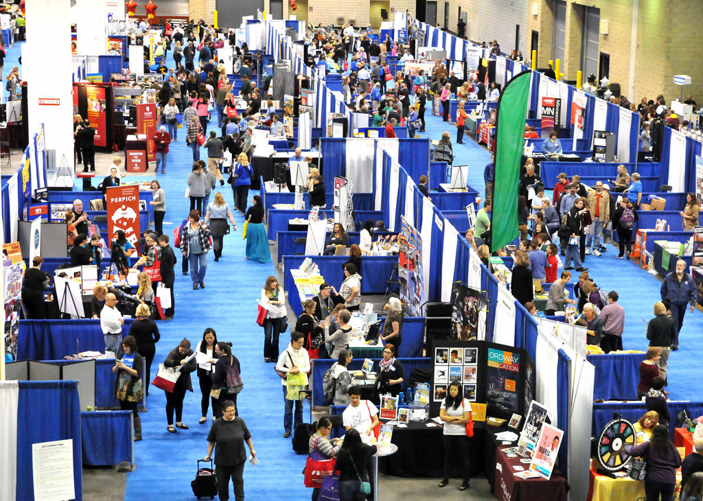 . An estimated 10,000 people will attend Education Minnesota\'s annual conference over its two-day run Oct. 17-18. Approximately 90 workshop sessions and presentations on student mental health issues, technology, reading instruction and ways to meet the needs of all learners will be featured.  (Pioneer Press: John Doman)