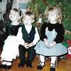 Erin, Sean & Meg Christmas, 2001