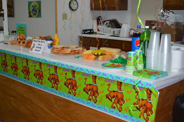 Jaxtin's 1st birthday party