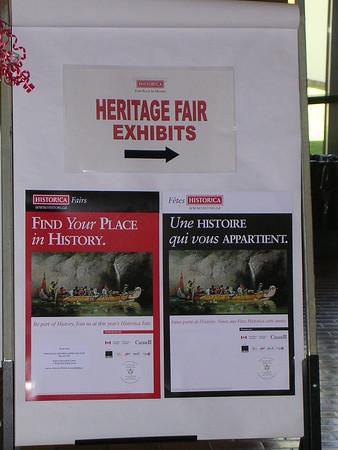 Project Showcase - Provincial Historica Fair 2005