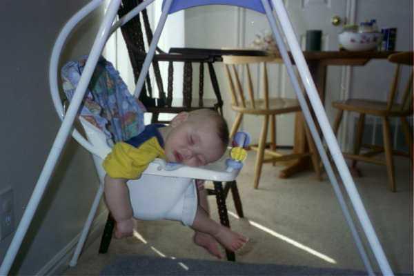 99 Allen asleep in Swing2.JPG