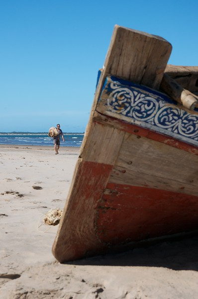 Filming in Malindi, Kenya