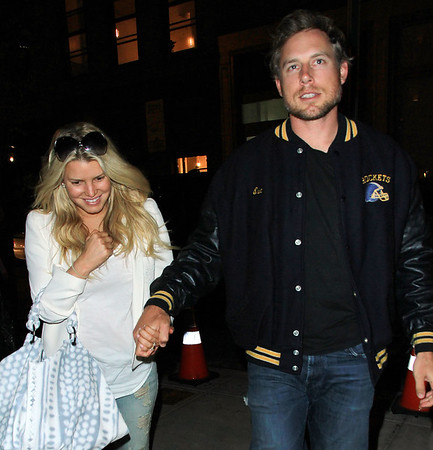 2011-05-19 - Jessica Simpson and  Eric Johnso
