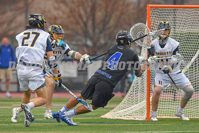 Duke vs Marquette Men's Lacrosse 2019
