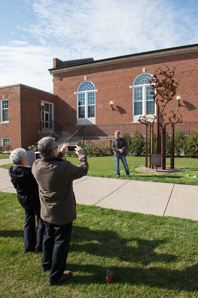10/20/15 Dedication Ceremony for Horace Mann Quad