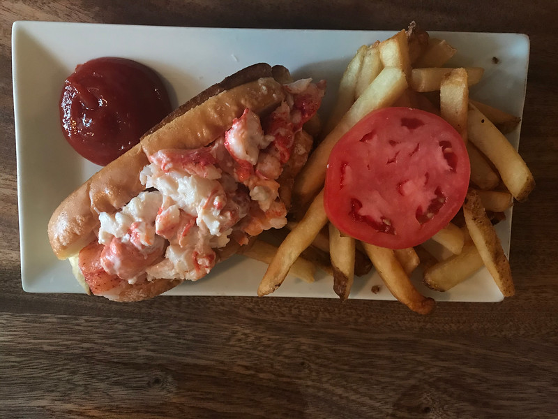 Lobster Roll In Portland Maine