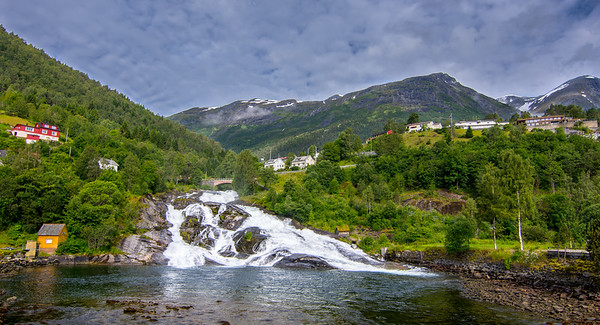 Hellesylt Waterfall